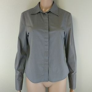 [Club Monaco] Grey Button Down Shirt Medium